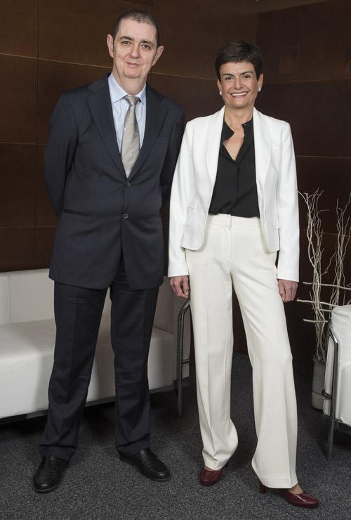 Antonia Magdaleno e Iñaki Galdos