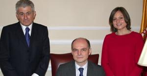 El director del SEPBLAC se reúne con el presidente del Consejo General de Economistas