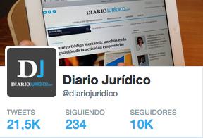 Los 10 tuits más retuiteados de Diario Jurídico