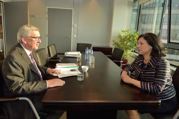 La ministra checa Vera Jourová, nueva comisaria de Justicia de la CE