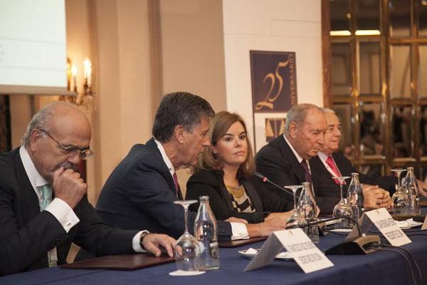 """Sáenz de Santamaría: """"El arbitraje es una pieza clave en la competitividad económica de España"""""""