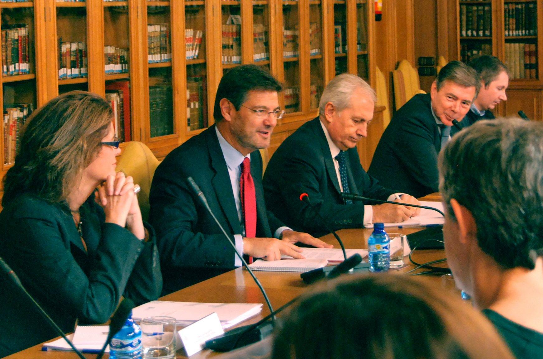 """Catalá: """"No se destruirá un solo puesto de trabajo por la reforma del Registro Civil"""""""