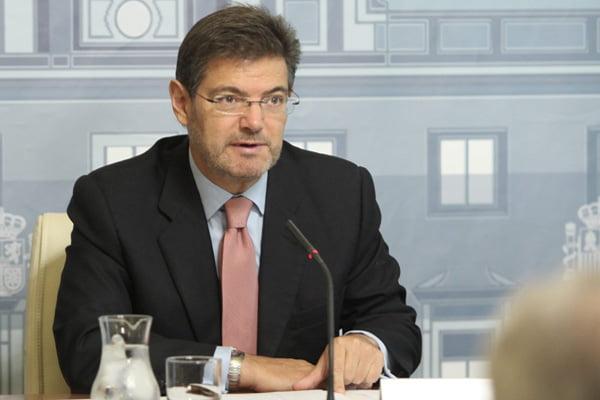 Catalá anuncia que la reforma de la LECrim y el proyecto de LOPJ se aprobarán antes de final de año