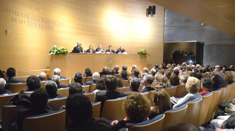 El Colegio de Abogados de Baleares advierte del colapso