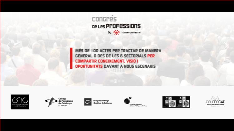 I Congreso de las Profesiones: Más de 100 colegios en Cataluña