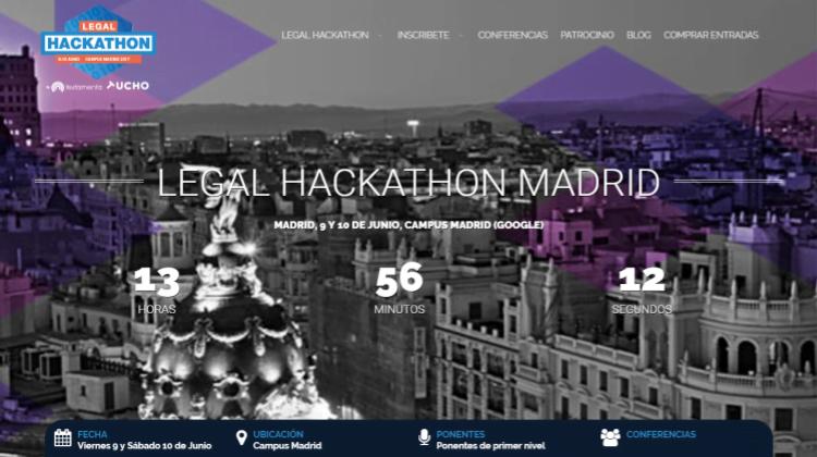 Legal Hackathon Madrid 2017