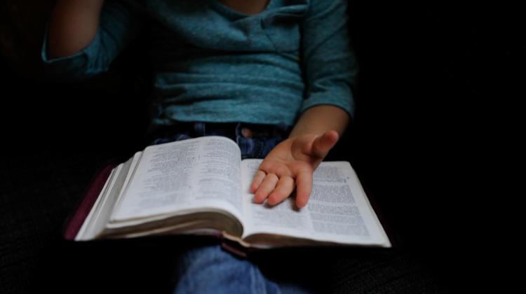 Chica leyendo libro sobre la ley de segunda oportunidad