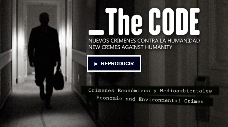 portada vídeo crowdfunding para impulsar el documental The Code