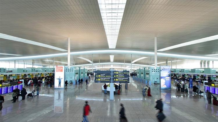 huelga aeropuerto barcelona