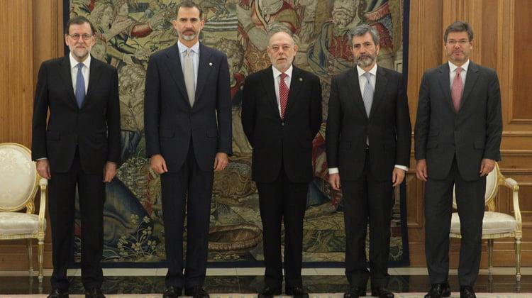 Felipe VI recibe la Memoria de la Fiscalía General del Estado