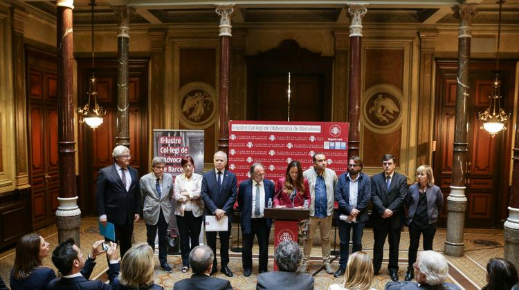 """El ICAB y otras entidades de la sociedad civil catalana constituyen la """"Comisión independiente para la mediación, el diálogo y la conciliación"""""""