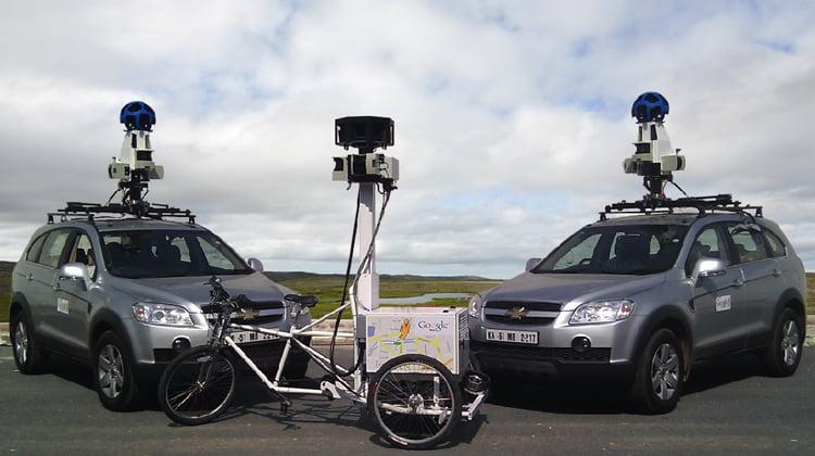 Google sancionado por la AEPD por recoger datos con el servicio Street View