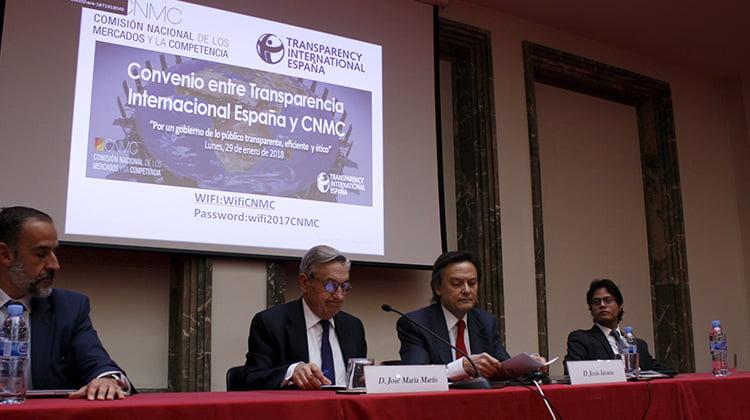 TI-España y la CNMC presentaron una aplicación para medir la transparencia