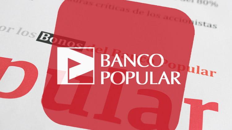 Primera sentencia firme en España por acciones del Banco Popular