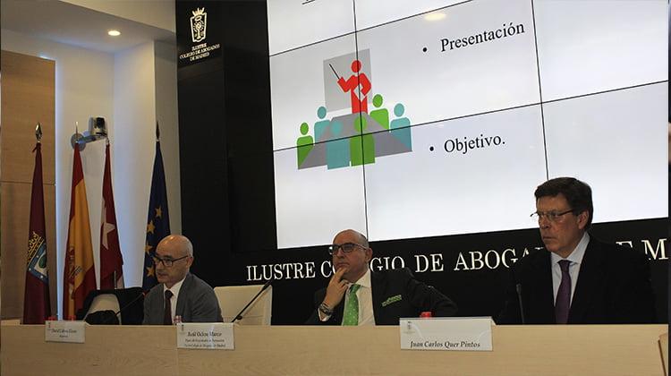 A debate la prisión permanente revisable por el Colegio de Abogados de Madrid
