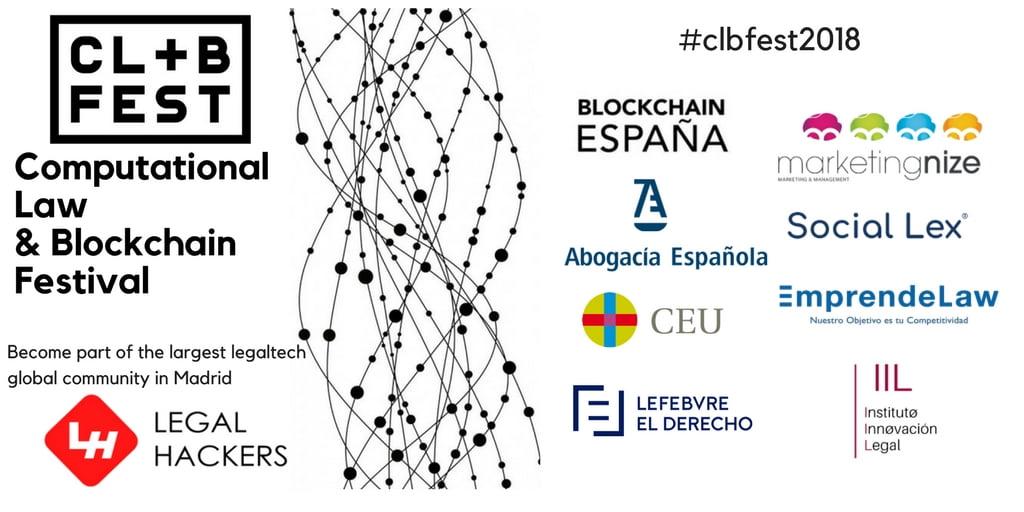 """El blockchain bajo la lupa en el primer """"Computational Law & Blockchain Festival"""""""