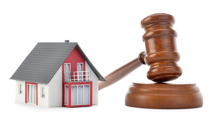 Las ejecuciones hipotecarias presentadas en los juzgados cayeron un 37,8 % en 2017
