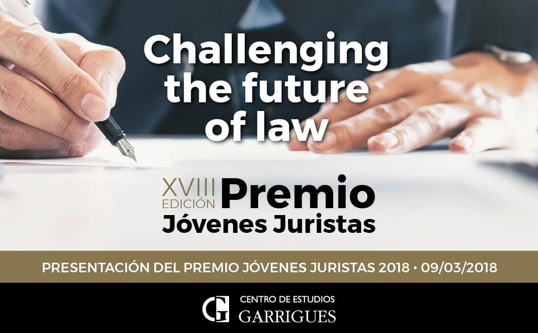 El Centro de Estudios Garrigues convoca la XVIII Edición del 'Premio Jóvenes Juristas', dirigida a estudiantes de último curso de Derecho