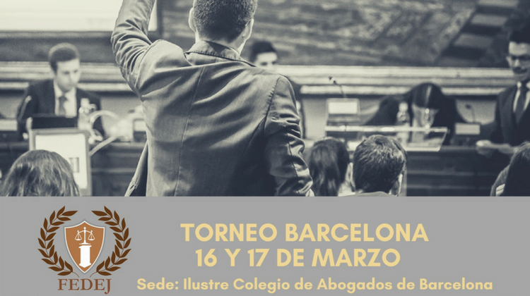 La Liga Nacional de Debate Jurídico celebra su Torneo de Barcelona