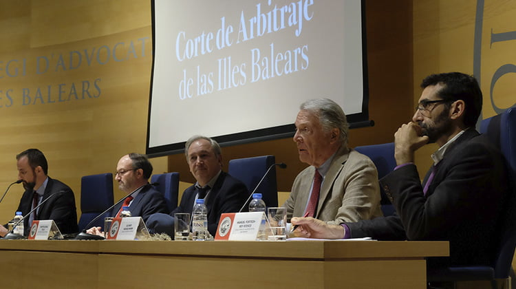 Nace la Corte de Arbitraje de las Illes Balears para convertirse en un referente del arbitraje institucional