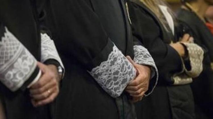2.916 jueces y magistrados participaron en la jornada de paro de ayer