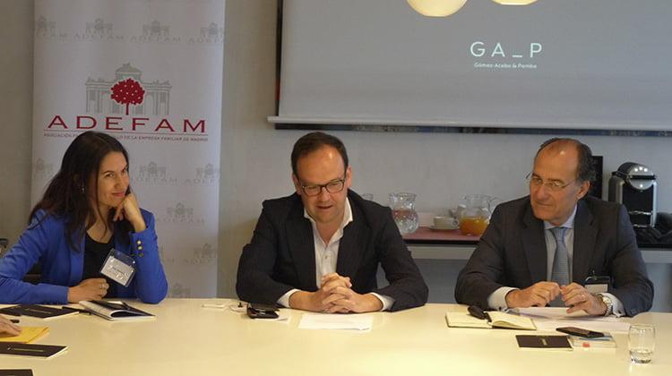 ADEFAM recomienda a las empresa familiares aproximarse a las sociedades cotizadas en materia de buen gobierno