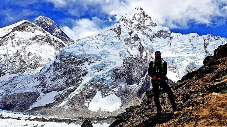 """""""Es un orgullo formar parte de la historia del Everest y hacerlo por una buena causa"""""""