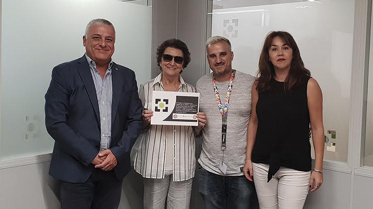 La Fundación Alejandro Da Silva Contra la Leucemia recibe una donación del Colegio de Mediadores