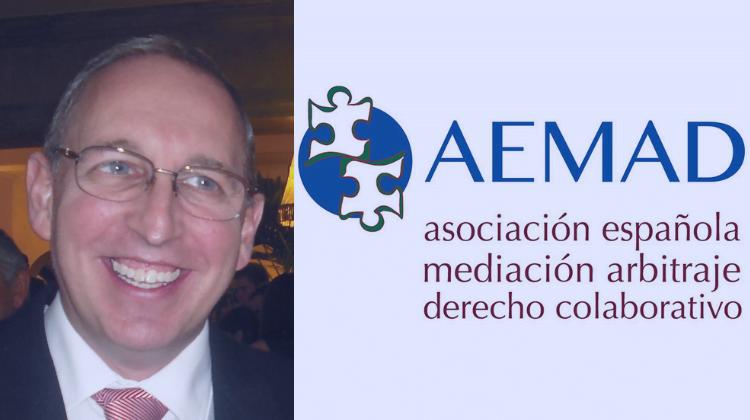 """Juan José Panizo Izaguirre, Presidente de AEMAD: """"Desde AEMAD siempre estamos dispuestos a divulgar y participar en todo lo que se nos plantea para dar a conocer la mediación"""""""