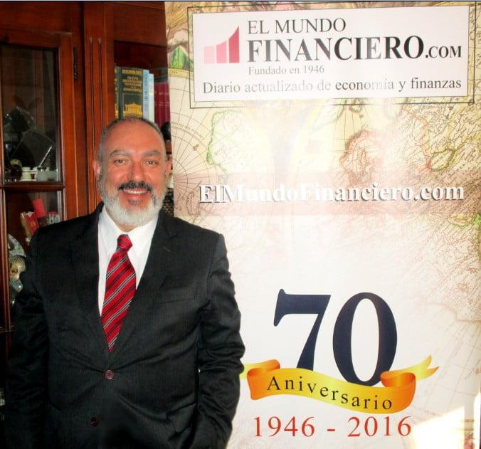 """José Luis Barceló, editor-director de El Mundo Financiero.com: """"La información es hoy poderosa"""""""