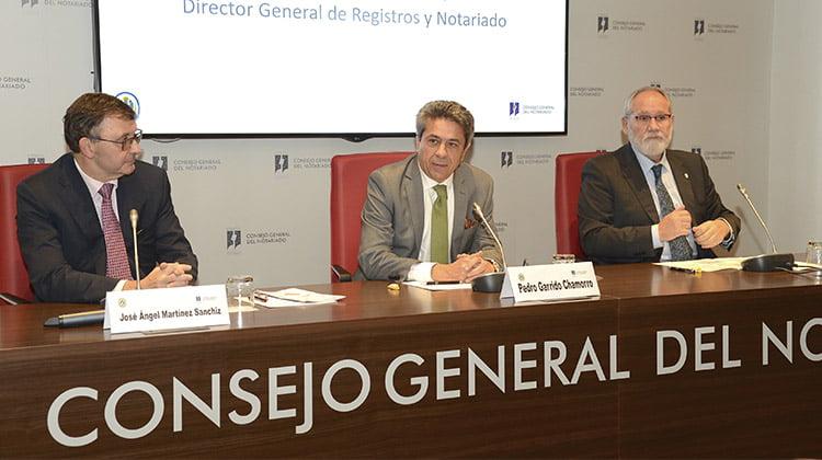 El Notariado español ha proporcionado a las autoridades información sobre 180.000 operaciones sospechosas de blanqueo de capitales