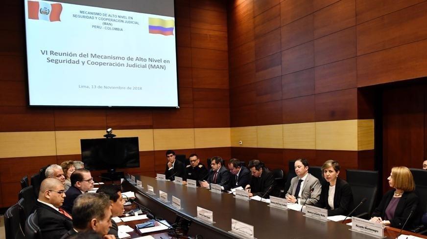 MAN 2018: Cooperación Judicial entre Colombia y Perú