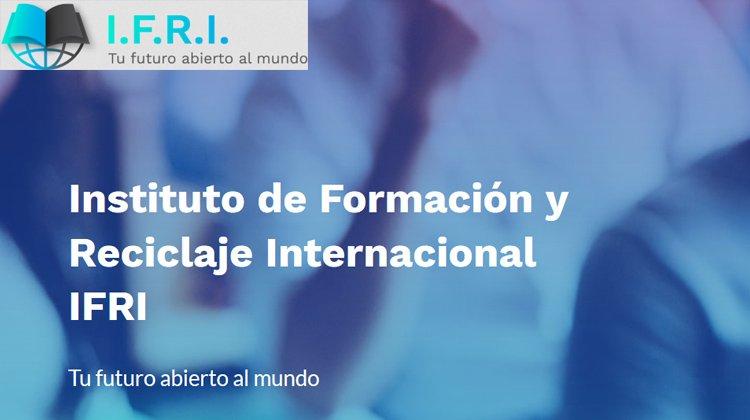 Cursos y Masters del Instituto de Formación y Reciclaje Internacional IFRI