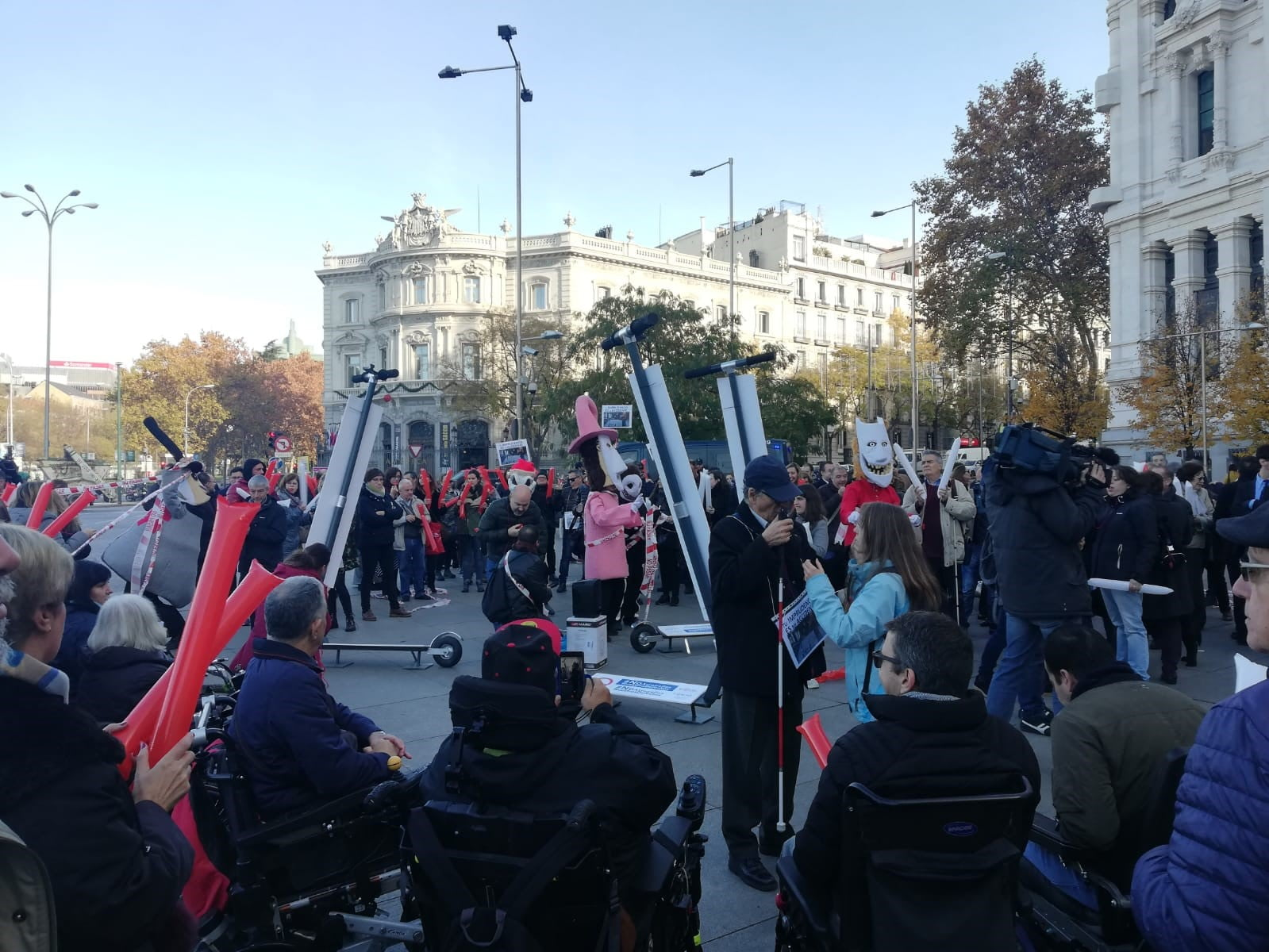 El CERMI se manifiesta en contra de la movilidad en las aceras