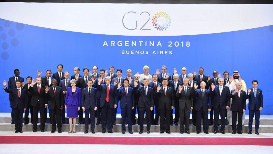 G20 contra el calentamiento global