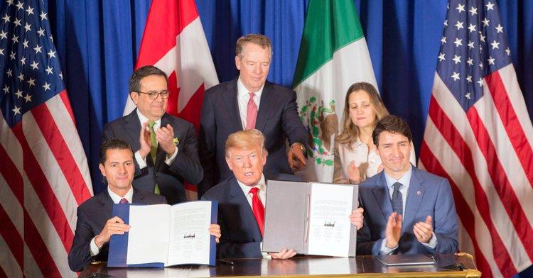 G20: México, Canadá y Estados Unidos firmaron el T-MEC
