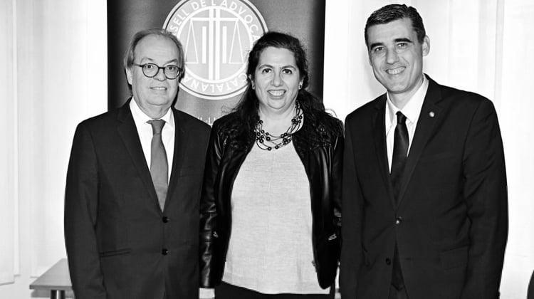 El decano del Colegio de Abogados de Terrassa, Ignasi Puig Ventalló, nuevo presidente del Consell de l'Advocacia Catalana