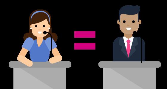 El IBD declara que la paridad es insuficiente para lograr la igualdad género